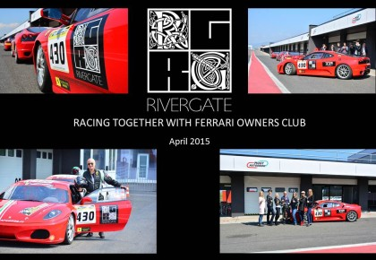 Rivergate and Ferrari owners club